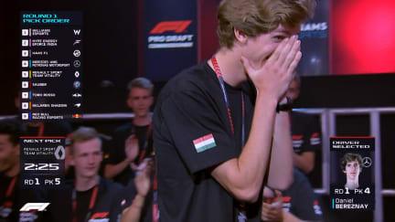 Highlights of the inaugural F1 Esports Pro Draft