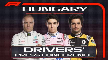 HIGHLIGHTS: FIA Thursday Press Conference - Hungary