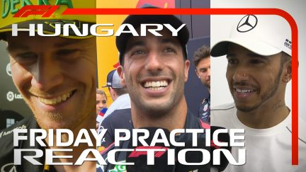 HUNGARIAN GP: Drivers report back after Friday practice