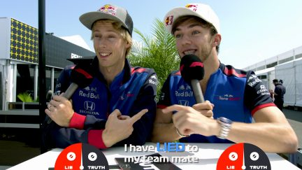 GRILL THE GRID: Truth or Lie - Toro Rosso