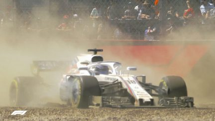 QUALIFYING: Stroll spins off at the start of Q1