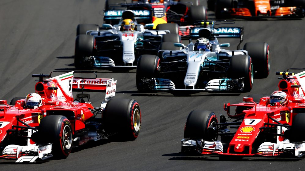 Re-live last year's race in Hungary