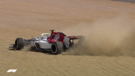 RACE: Ericsson walks away from big crash at Turn 1