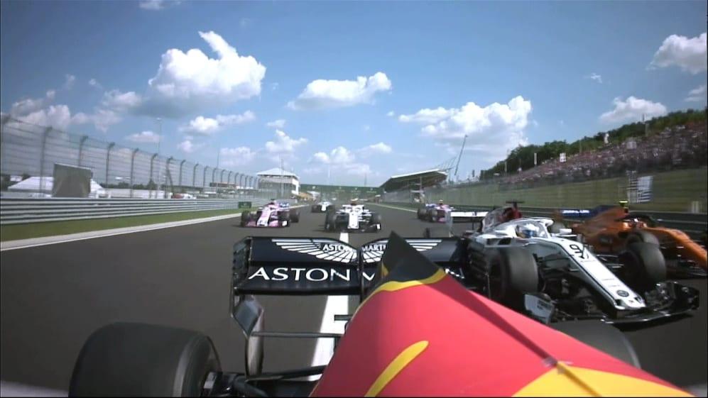 RACE: Ricciardo and Ericsson rub wheels