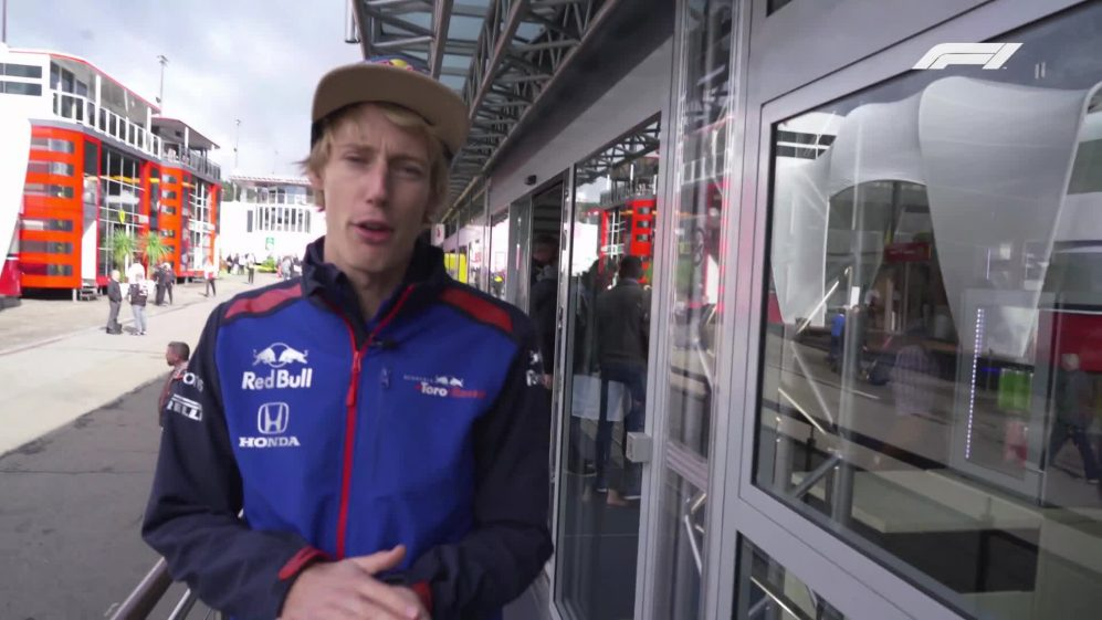Brendon Hartley Red Bull Energy Station Tour - Belgian GP 2018