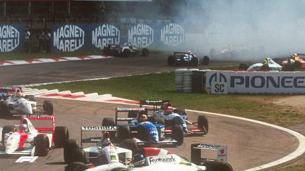 F1 VAULT: Marco Apicella - The shortest F1 career?