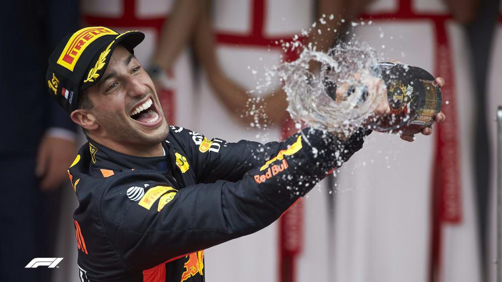 SUPER SEVEN: Daniel Ricciardo's Red Bull triumphs to date