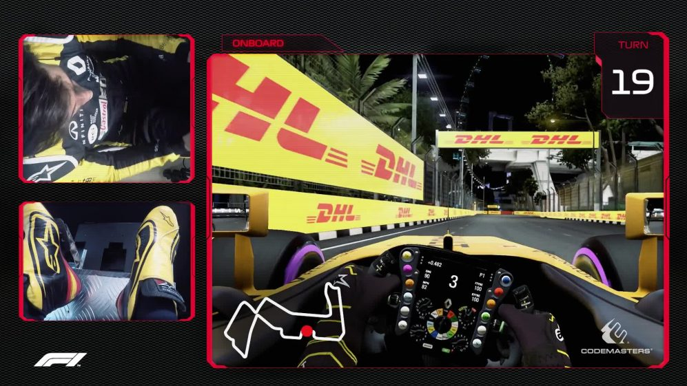 CIRCUIT GUIDE: Carlos Sainz's virtual hot lap of Singapore