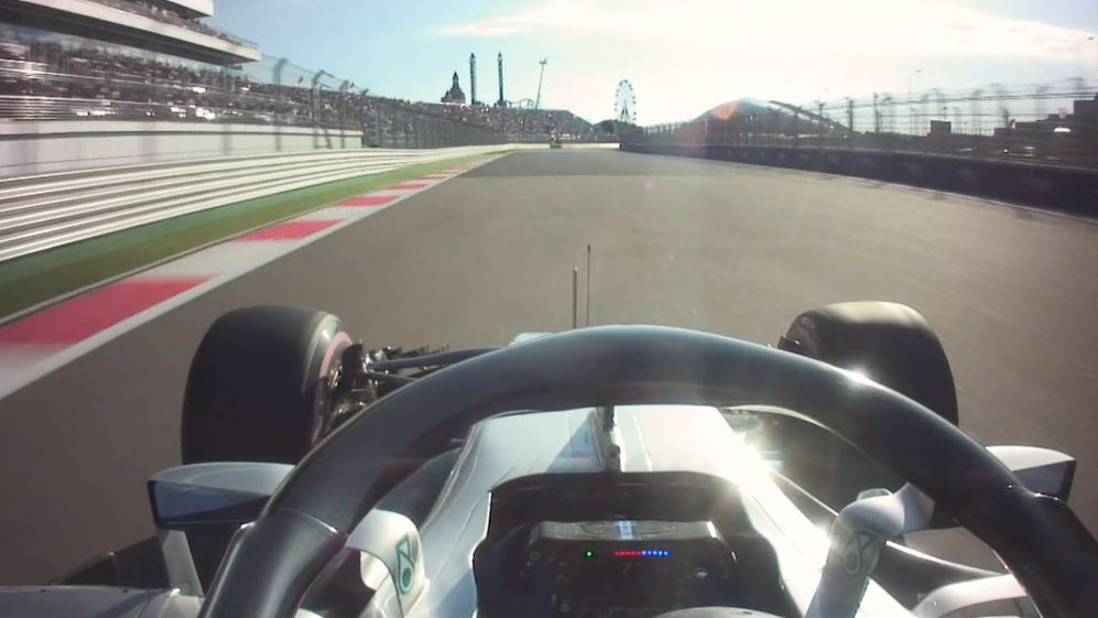 ONBOARD: Valtteri Bottas' Russia pole lap