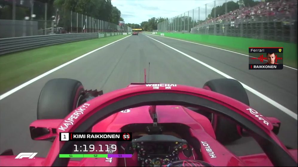 ONBOARD: Raikkonen takes Monza pole with fastest ever F1 lap