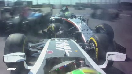 RUSSIAN GP: 5 crazy onboard moments