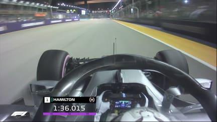 ONBOARD: Lewis Hamilton's Singapore pole lap