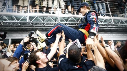 10 YEARS ON: Toro Rosso on fairy-tale Monza win