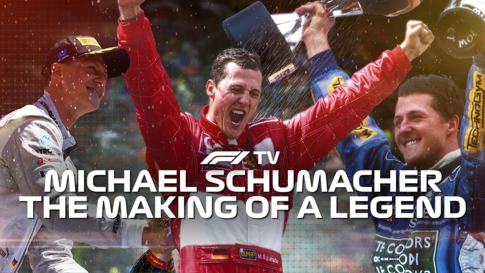 Michael Schumacher: The making of a legend - on F1TV