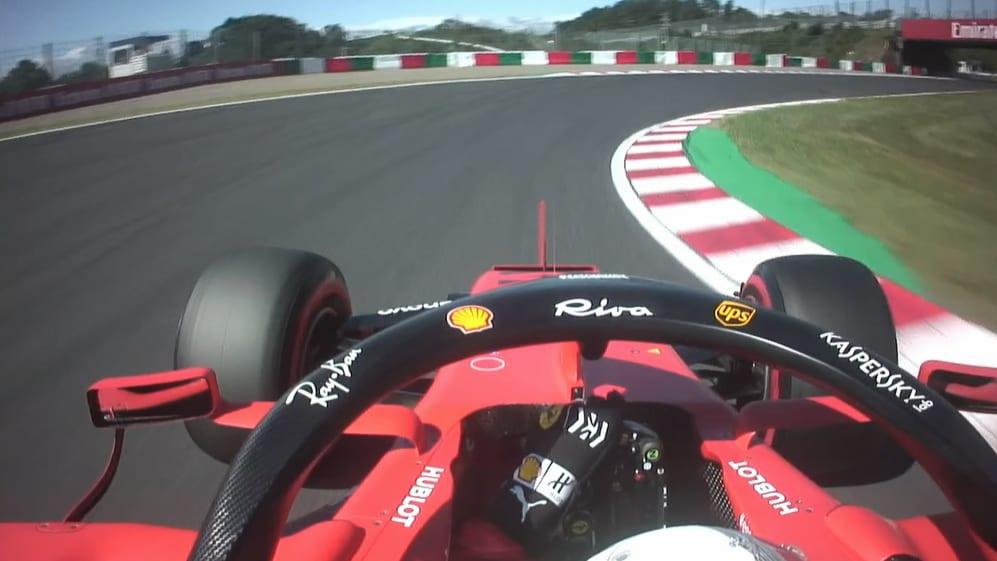 ONBOARD: Sebastian Vettel's Pirelli pole position lap