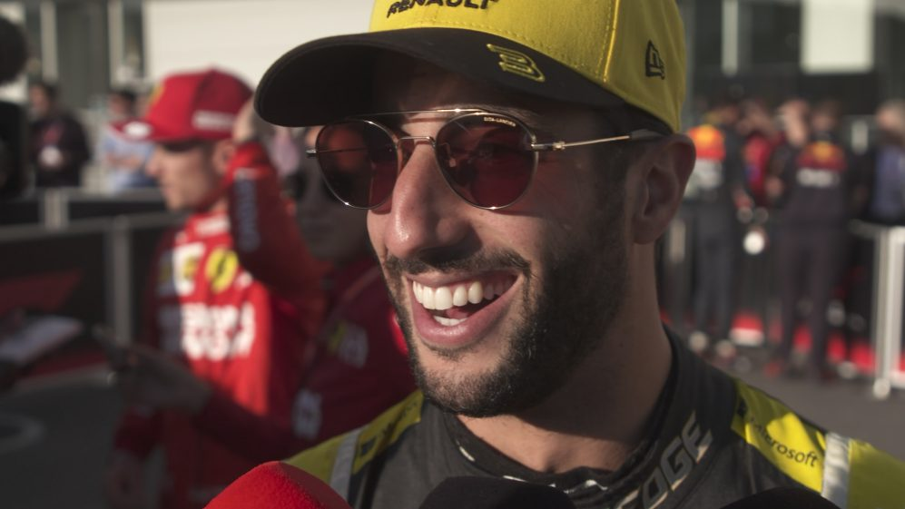 Daniel Ricciardo: 'Something was not right this morning'
