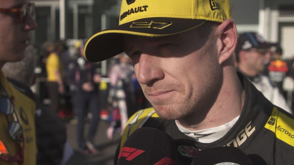 Nico Hulkenberg: 'Good start, amazing first lap'