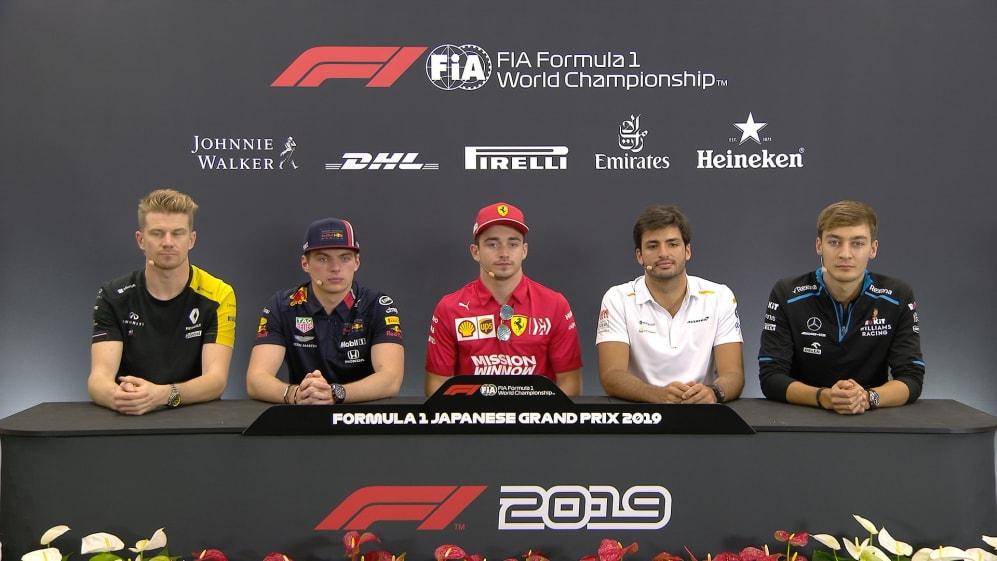 JAPAN: FIA pre-race press conference highlights