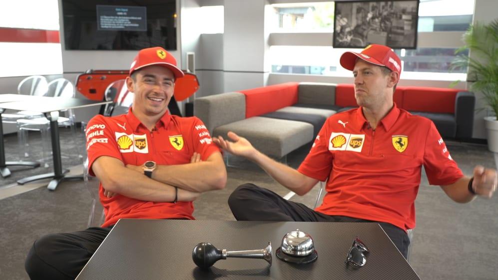GRILL THE GRID: Ferrari