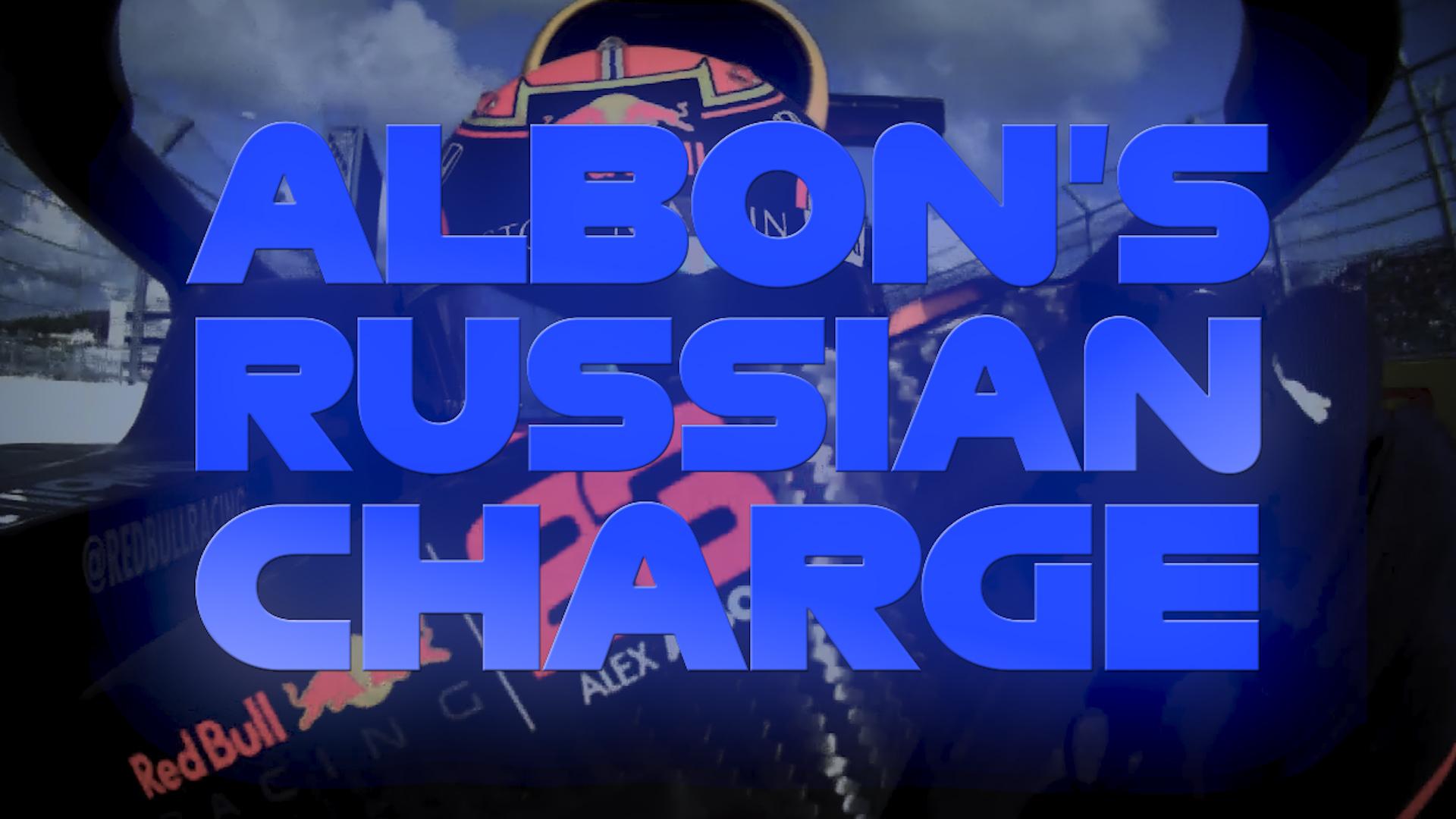 Pit lane to P5: Alex Albon's Russian GP charge