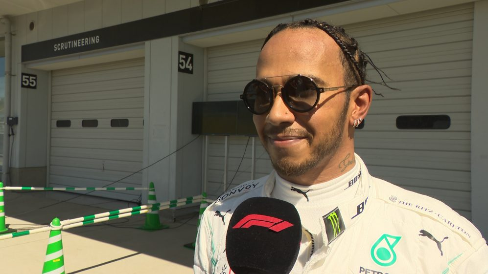 Japan qualifying 'could have gone better' for Hamilton