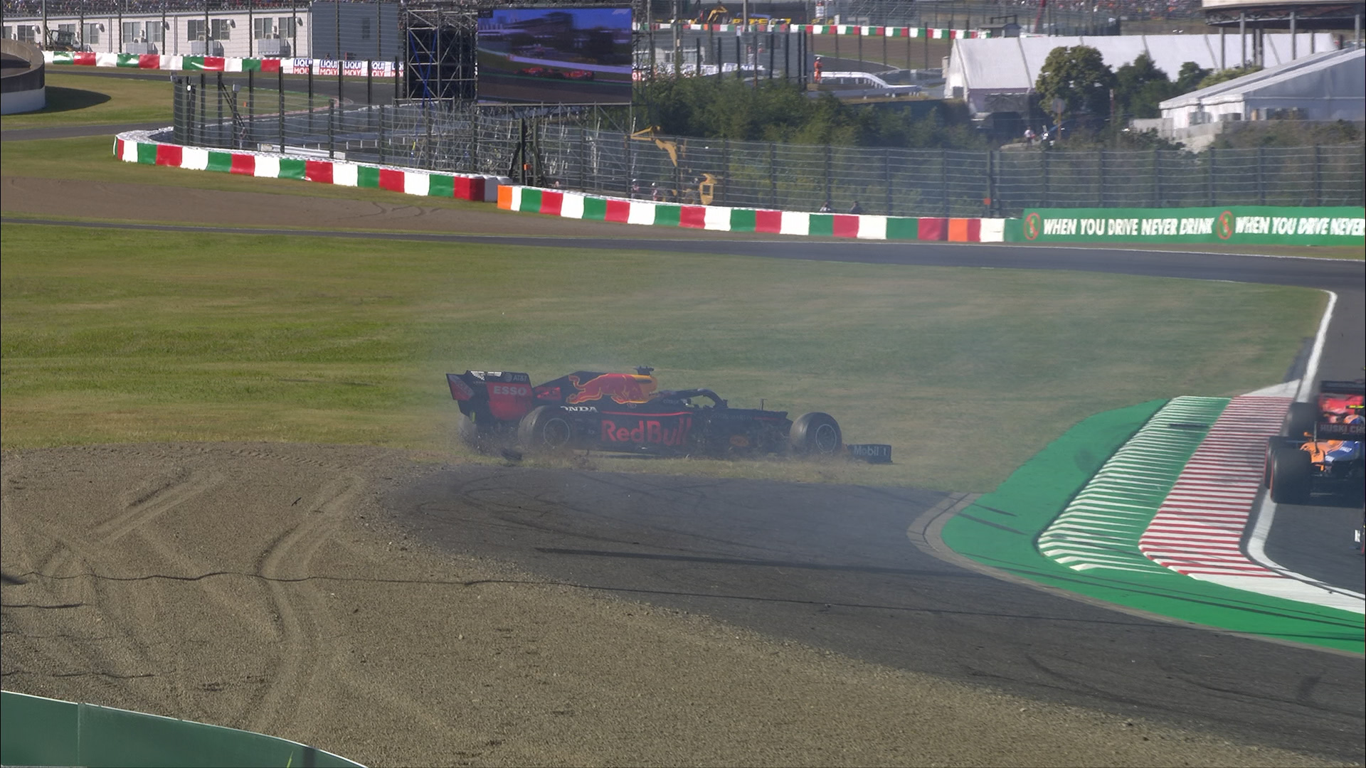 Japanese GP: Leclerc and Verstappen's controversial Lap 1 collision