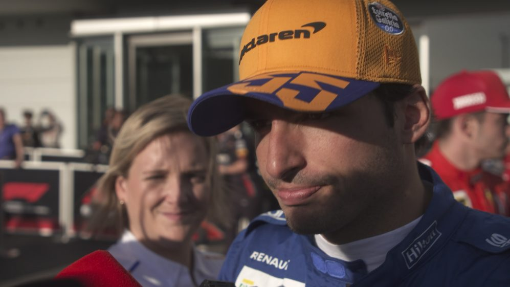 Carlos Sainz: 'It's been a perfect day'