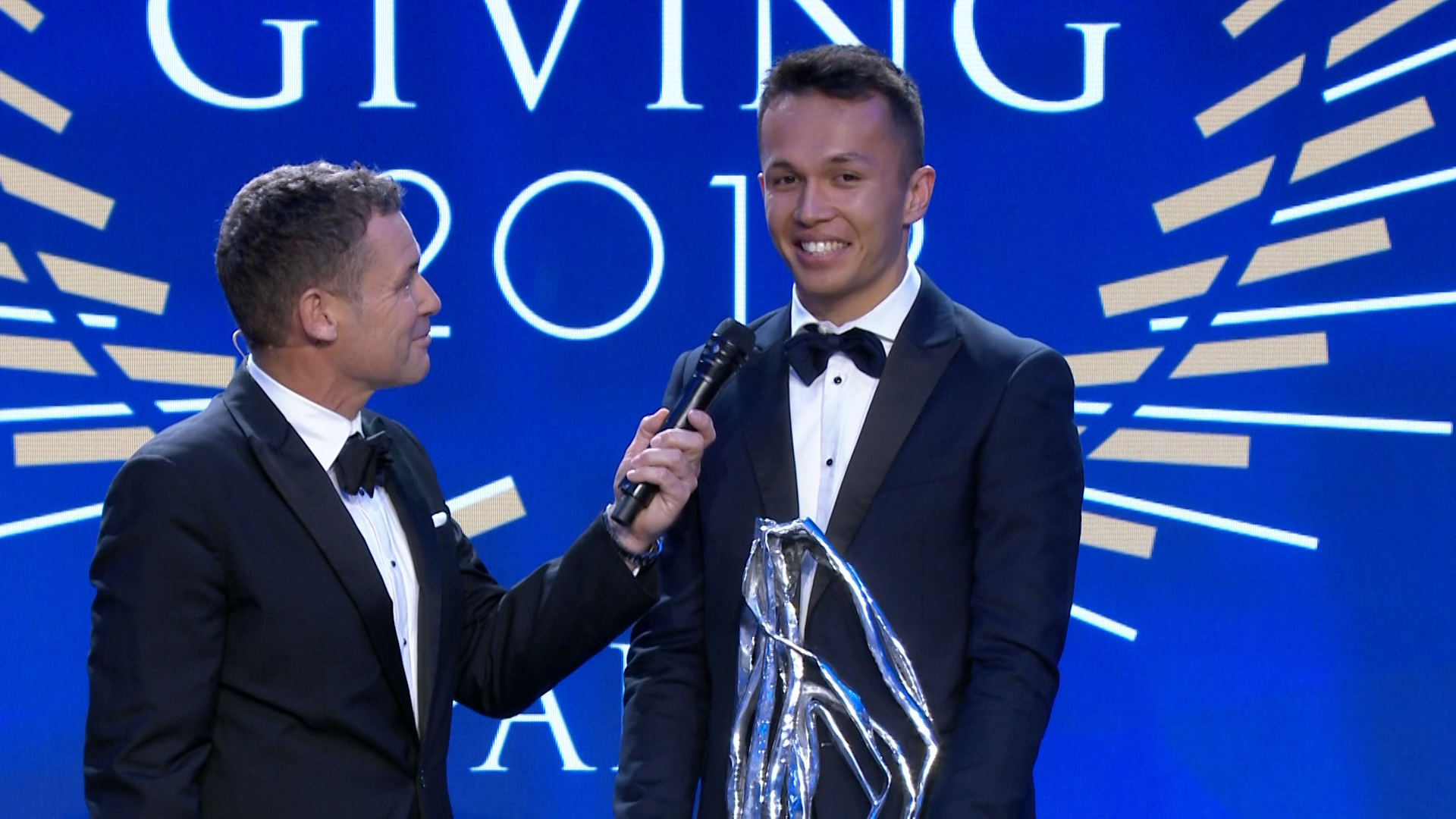 FIA Prize Giving 2019: Alexander Albon awarded Rookie of the Year