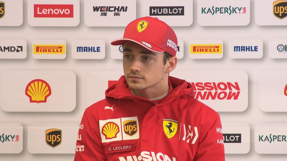 Charles Leclerc - 'Starting to feel at ease' with SF90