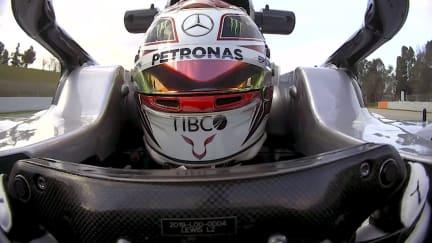 Pre-Season Testing 2019: Watch Hamilton at the wheel of his Mercedes W10