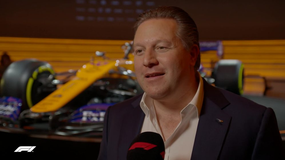 Zak Brown - 'We're keeping our heads down and seeing where we go'