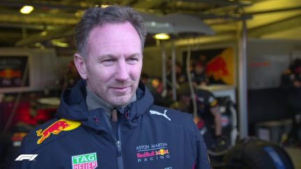 Christian Horner - 'It's our first car with a Honda engine and it looks resplendent'