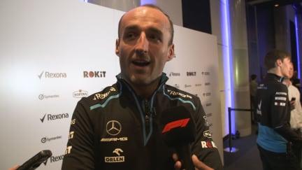 Robert Kubica - 'The hard job is starting now'