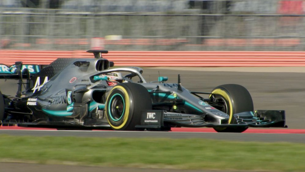 Mercedes hit the track with their new 2019 title contender