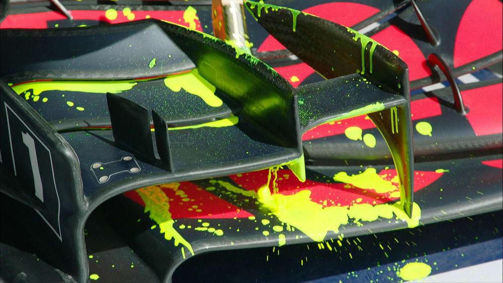 Pre-Season Testing 2019: What is flow-vis paint?