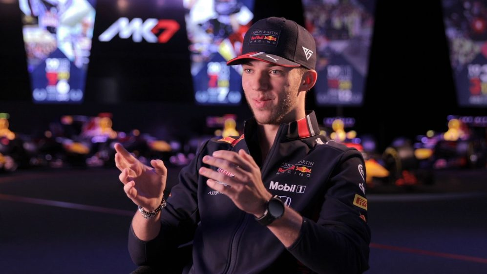 Pierre Gasly on realising his dream with Red Bull Racing