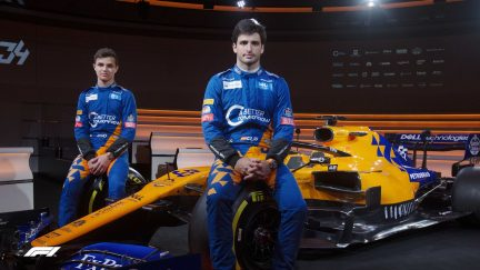 McLaren unveil new livery for 2019