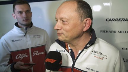 Frederic Vasseur - 'Pace and consistency impressive'
