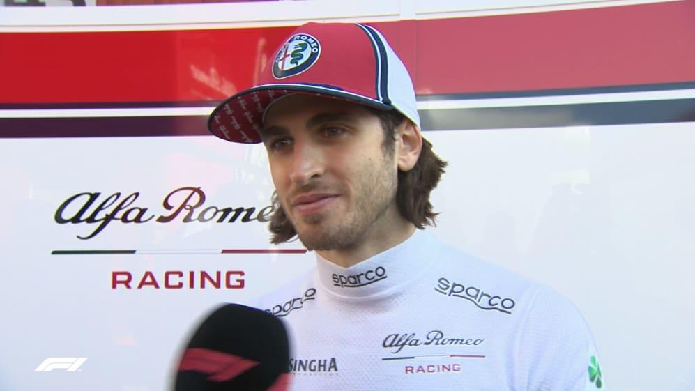 Antonio Giovinazzi - 'Kimi is the best team mate for me'