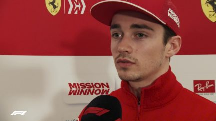 Charles Leclerc - 'It's a special and emotional day for me'