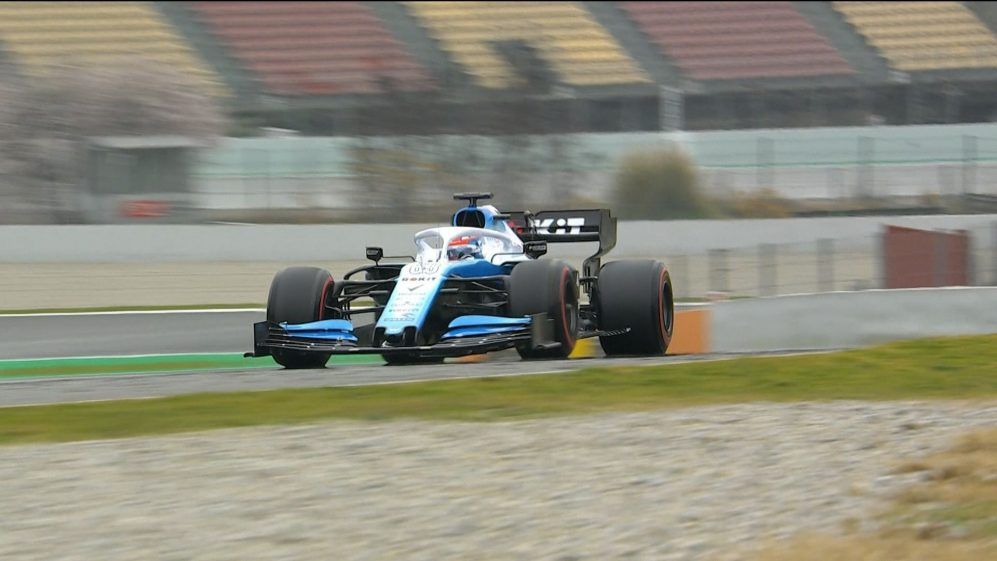 Testing Day 3: George Russell gives Williams FW42 its 2019 track debut
