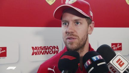 Sebastian Vettel  - 'Excited to get back into the car'