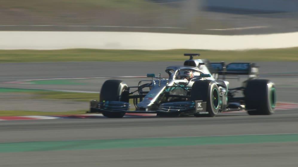 Pre-season testing 2019: Mercedes trial new aero package
