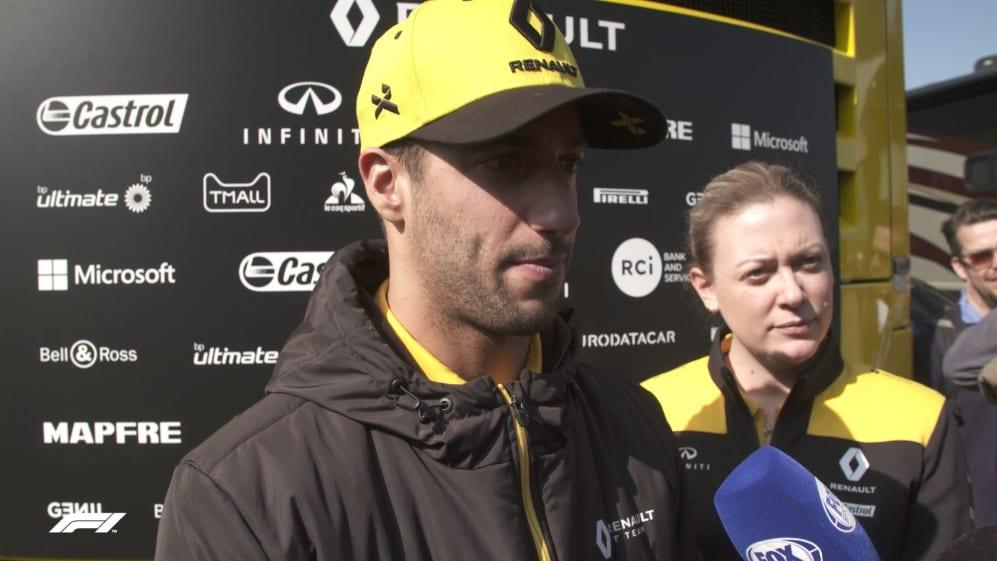 Daniel Ricciardo - Every change made has been positive