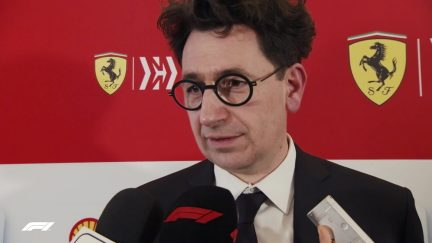 Mattia Binotto - 'We've raised the bar this year'