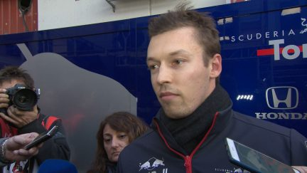 Daniil Kvyat - 'Honda providing the reliability we need'