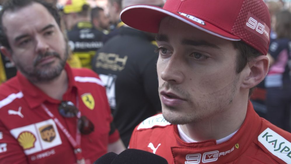 Charles Leclerc: 'We will recover at the next race'