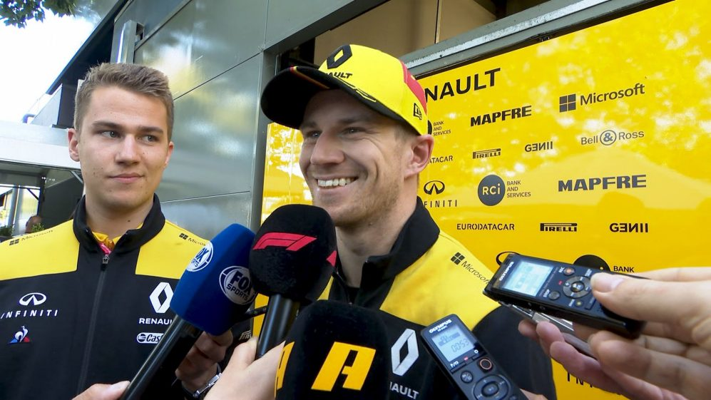 Nico Hulkenberg: 'Satisfied' with the first day of practice