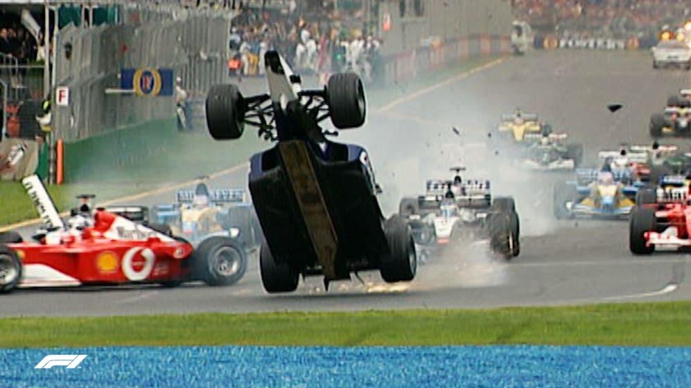 F1 Vault: When Ralf Schumacher flew in 2002