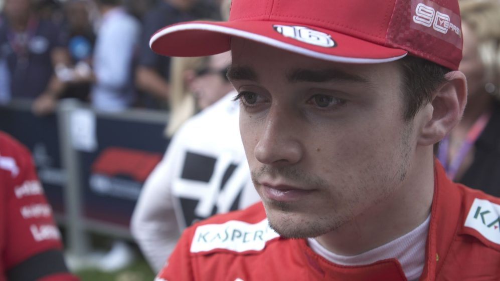 Charles Leclerc: 'I didn't do the job' today